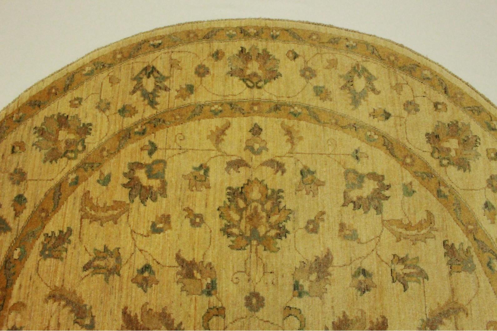 ziegler teppich rund beige in 200x200cm 5001 698 bei. Black Bedroom Furniture Sets. Home Design Ideas