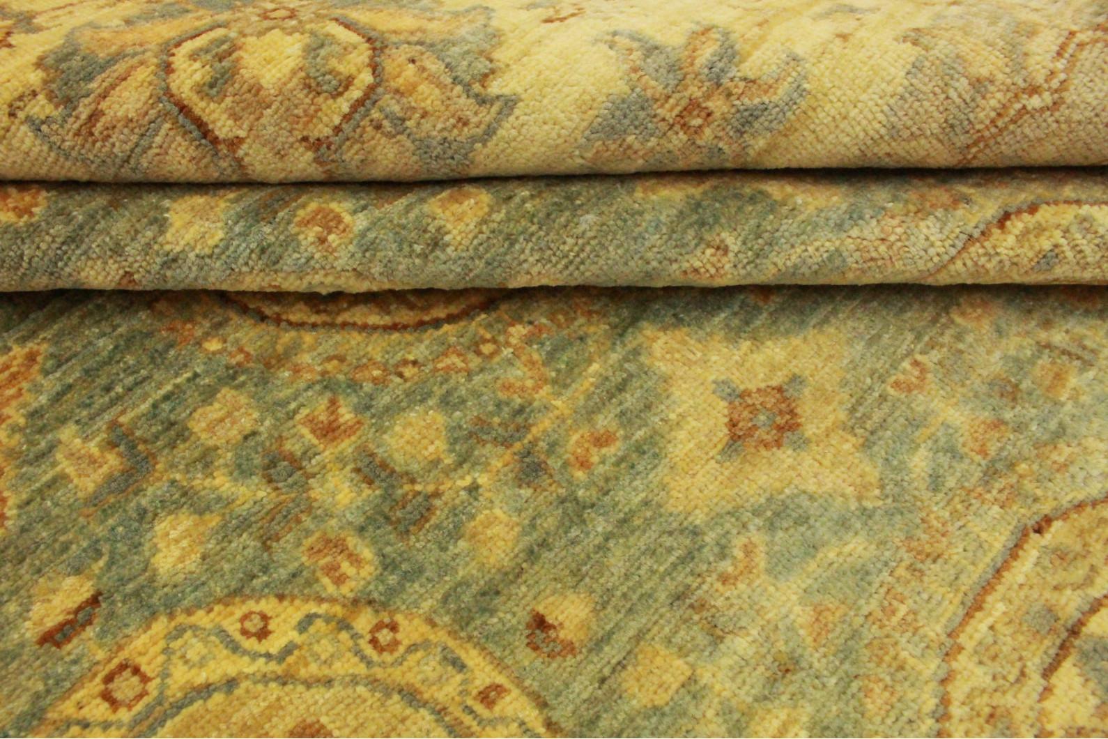 ziegler teppich rund blau braun in 200x200cm 5001 699 bei kaufen. Black Bedroom Furniture Sets. Home Design Ideas