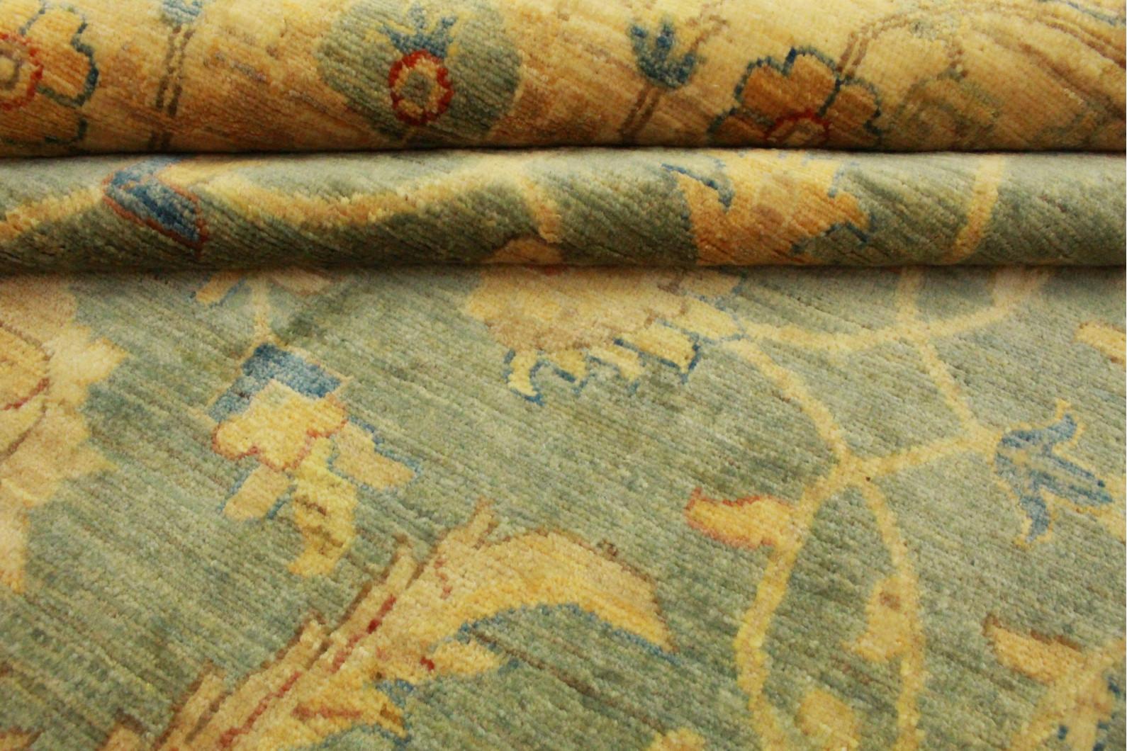 ziegler teppich rund beige blau in 245x245cm 5001 707 bei kaufen. Black Bedroom Furniture Sets. Home Design Ideas