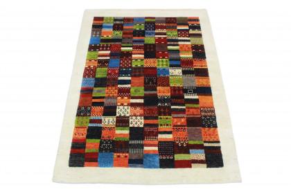Loribaft Designer-Teppich Weiß in 240x170 5110-2723