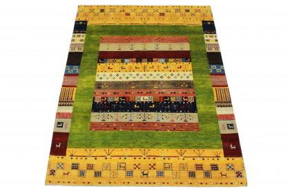 Loribaft Designer-Teppich Gelb in 240x170 5110-2886