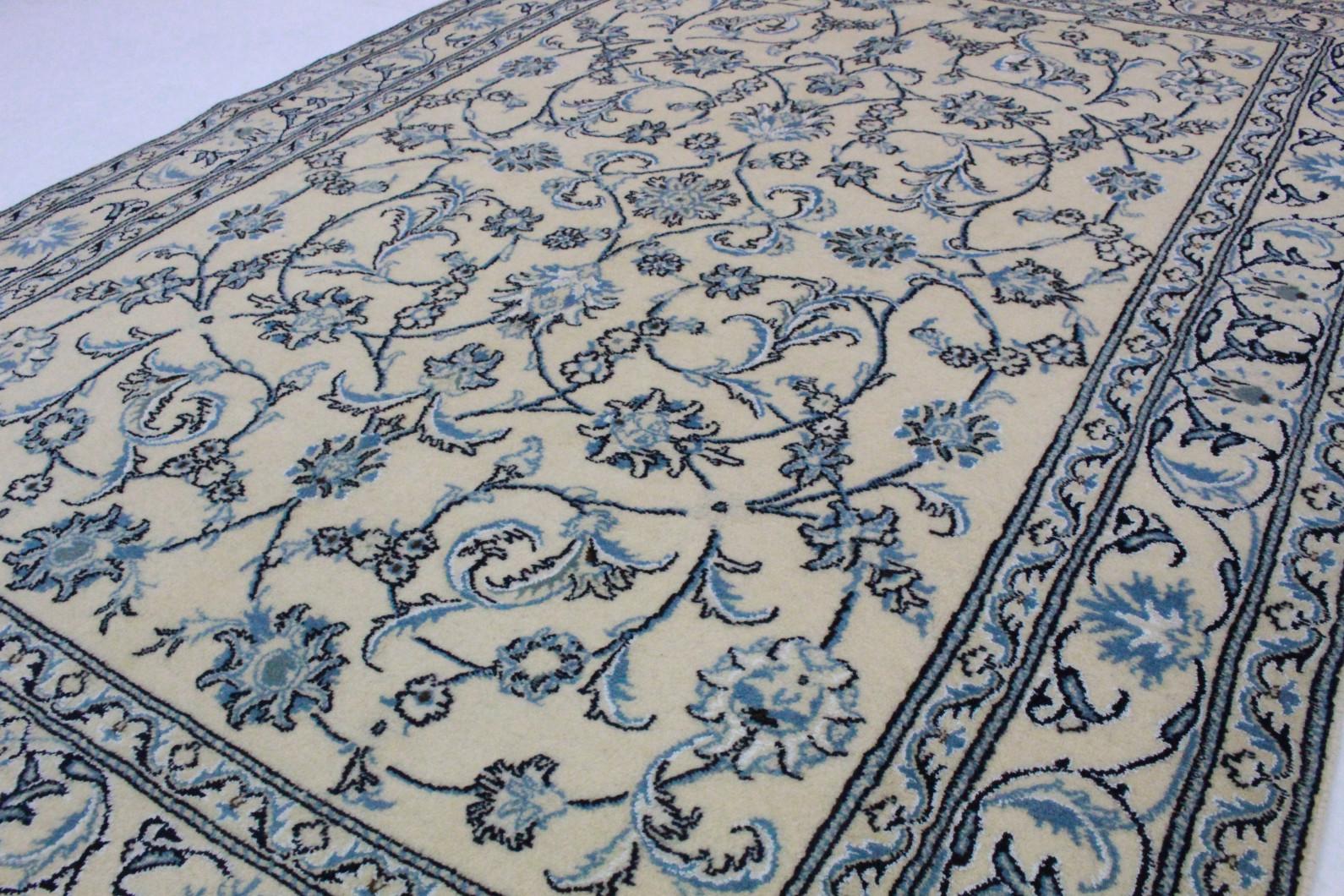 Nain teppich  Nain Teppich Beige Blau in 230x170 (5120-21815) bei carpetido.de ...