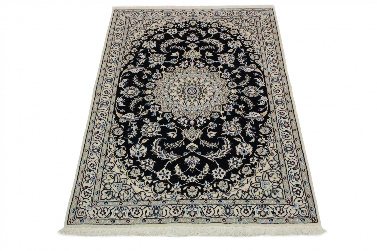 nain teppich beige blau in 150x100 5120 23479 bei kaufen. Black Bedroom Furniture Sets. Home Design Ideas