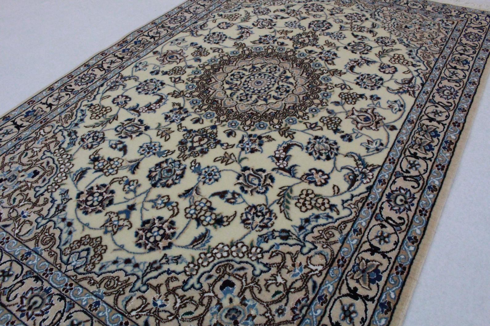 nain teppich beige blau in 150x100 5120 23481 bei kaufen. Black Bedroom Furniture Sets. Home Design Ideas