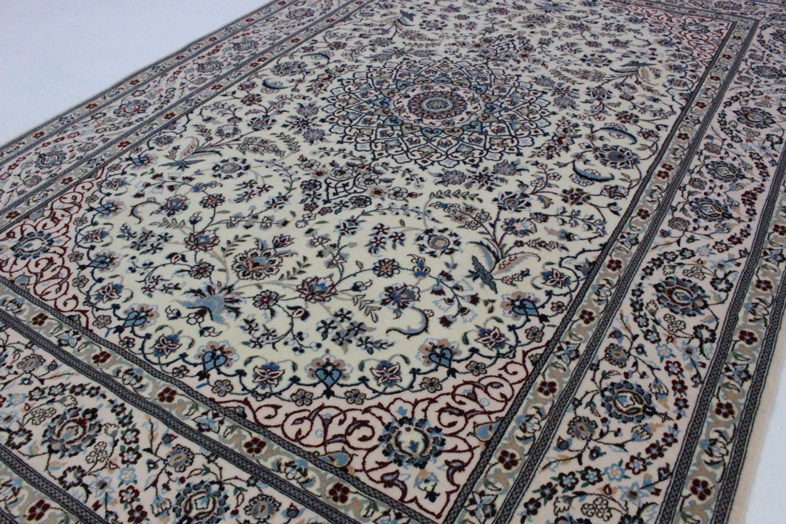Nain teppich  Nain Teppich Beige Blau in 190x130 (5120-26650) bei carpetido.de ...