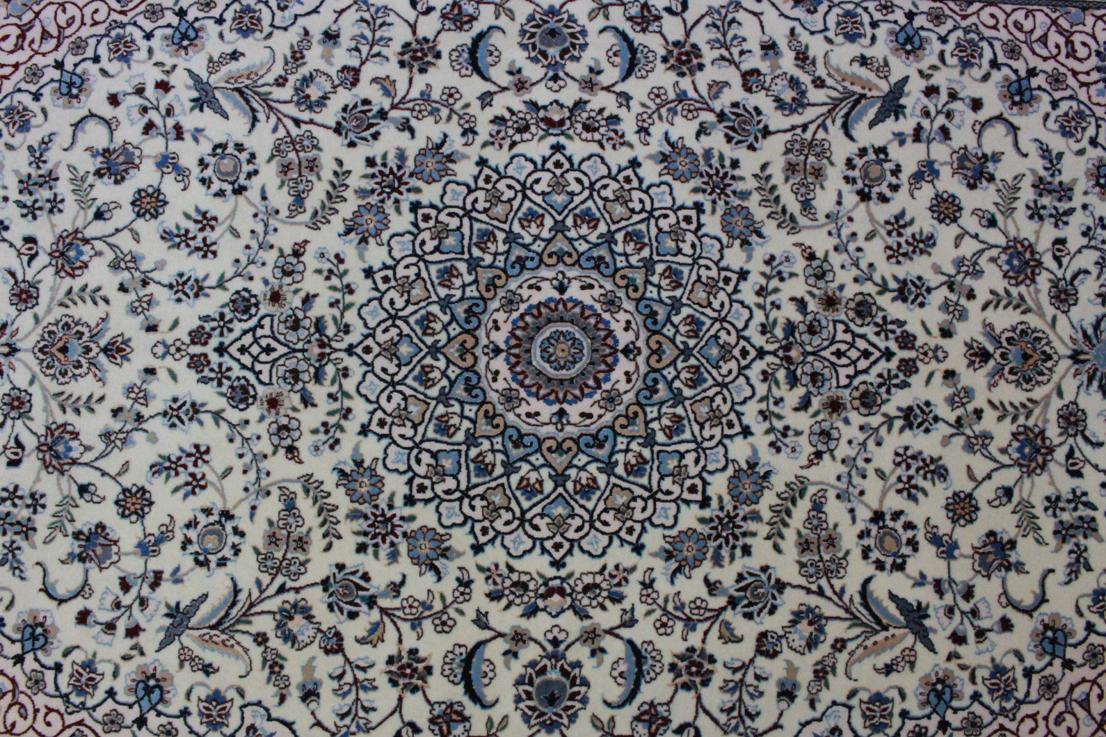 nain teppich beige blau in 190x130 5120 26650 bei kaufen. Black Bedroom Furniture Sets. Home Design Ideas