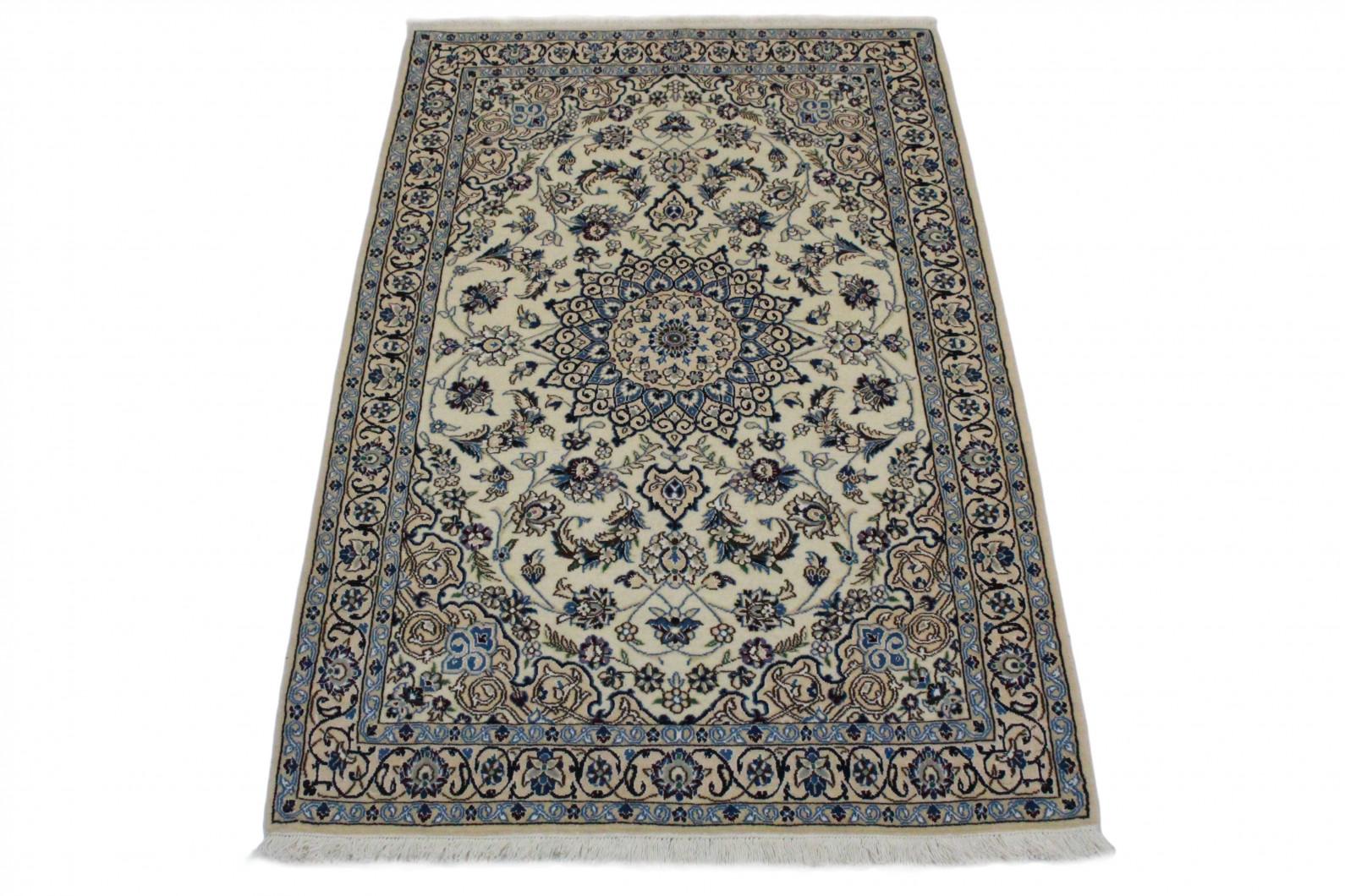 nain teppich beige blau in 180x110 5120 27063 bei kaufen. Black Bedroom Furniture Sets. Home Design Ideas