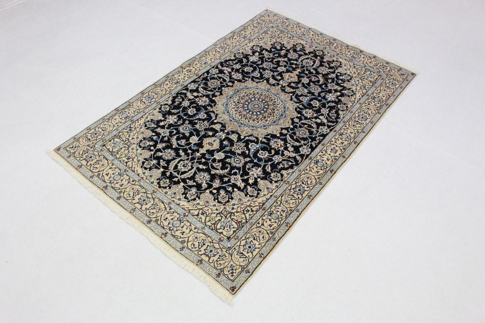 nain teppich beige blau in 200x130 5120 27405 bei kaufen. Black Bedroom Furniture Sets. Home Design Ideas