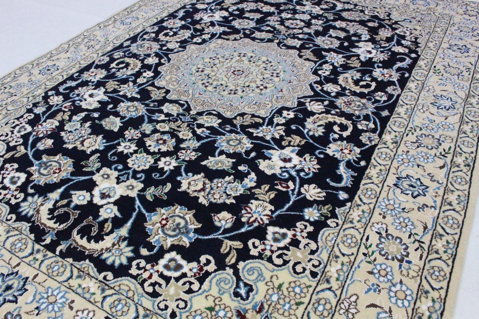 nain teppich beige blau in 200x140 5120 27432 bei kaufen. Black Bedroom Furniture Sets. Home Design Ideas
