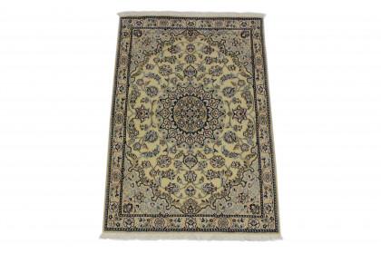 Nain Teppich Beige Blau in 130x90 5120-27439