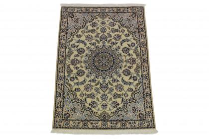 Nain Teppich Beige Blau in 130x90 5120-27440