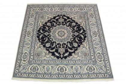 Nain Teppich Beige Blau in 210x190 5120-58123
