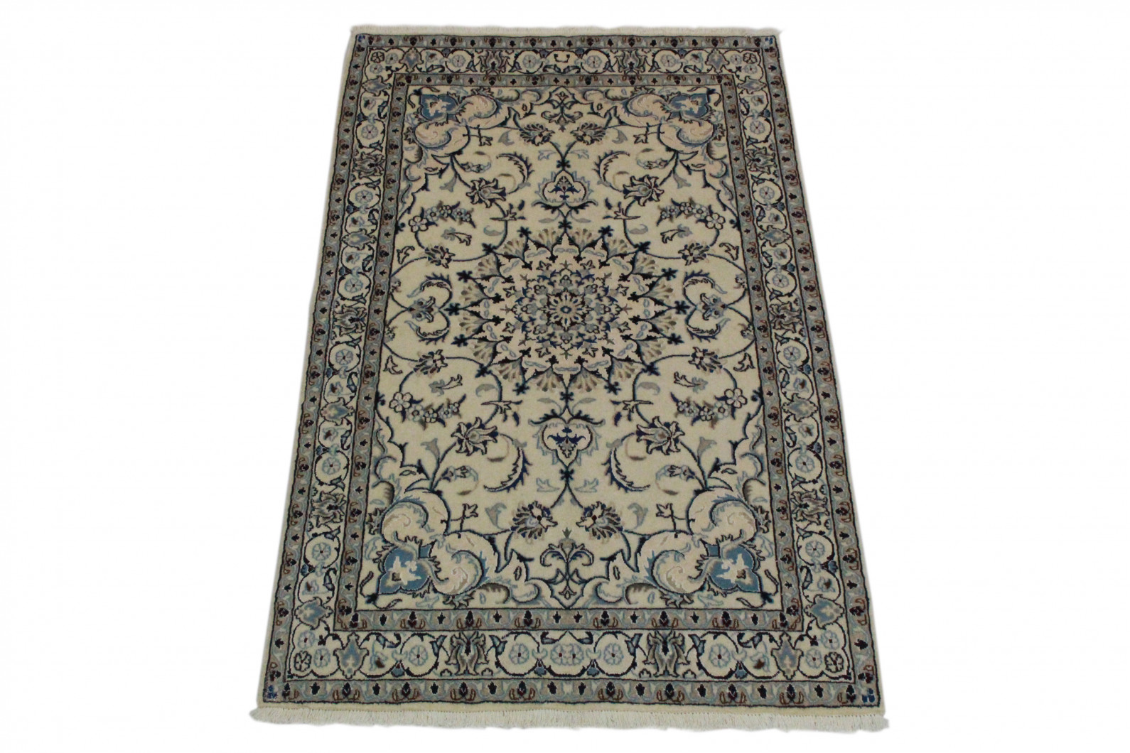 Nain teppich  Nain Teppich Beige Blau in 200x120 (5120-58153) bei carpetido.de ...