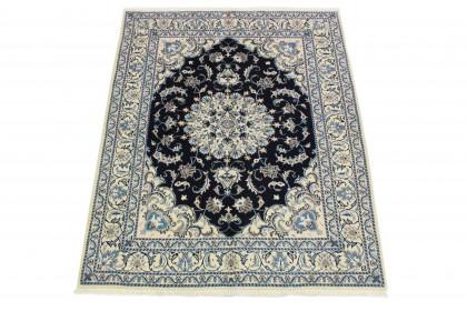 Nain Teppich Beige Blau in 200x150 5120-58215