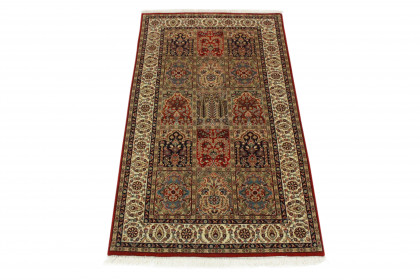 Teppich Blau Rot in 160x90 5130-796
