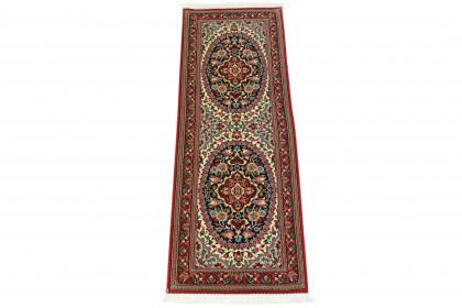 Teppich Rot Beige Blau in 160x50 5150-7172