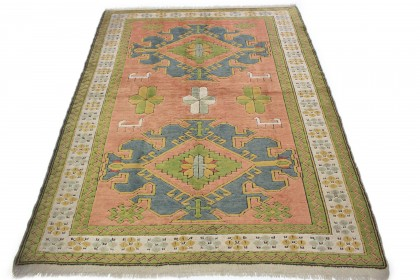 Traditional Vintage Rug Turkish in 230x180
