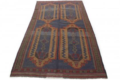 Traditional Vintage Rug Kilim in 270x150