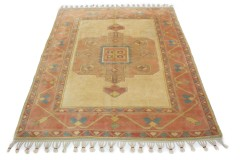 Traditional Vintage Rug Turkish in 210x170