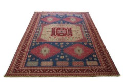 Klassischer Vintage-Teppich Kelim in 450x350
