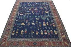 Traditional Vintage Rug Kilim in 360x280