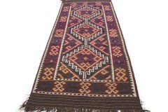Traditional Vintage Rug Kilim in 370x160