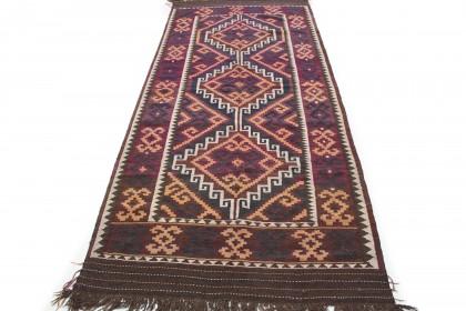 Traditional Vintage Rug Kilim in 370x160