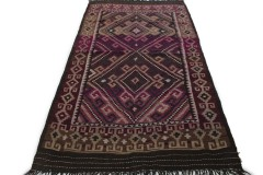 Traditional Vintage Rug Kilim in 350x190