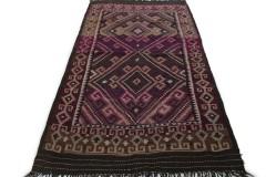 Klassischer Vintage-Teppich Kelim in 350x190