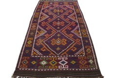 Traditional Vintage Rug Kilim in 370x190