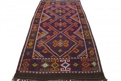Traditional Vintage Rug Kilim in 370x190