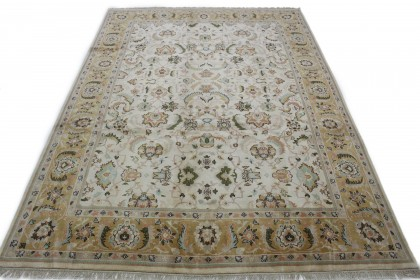 Traditional Vintage Rug Ziegler in 370x270