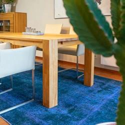Druckstellen im Teppich durch schwere Möbel