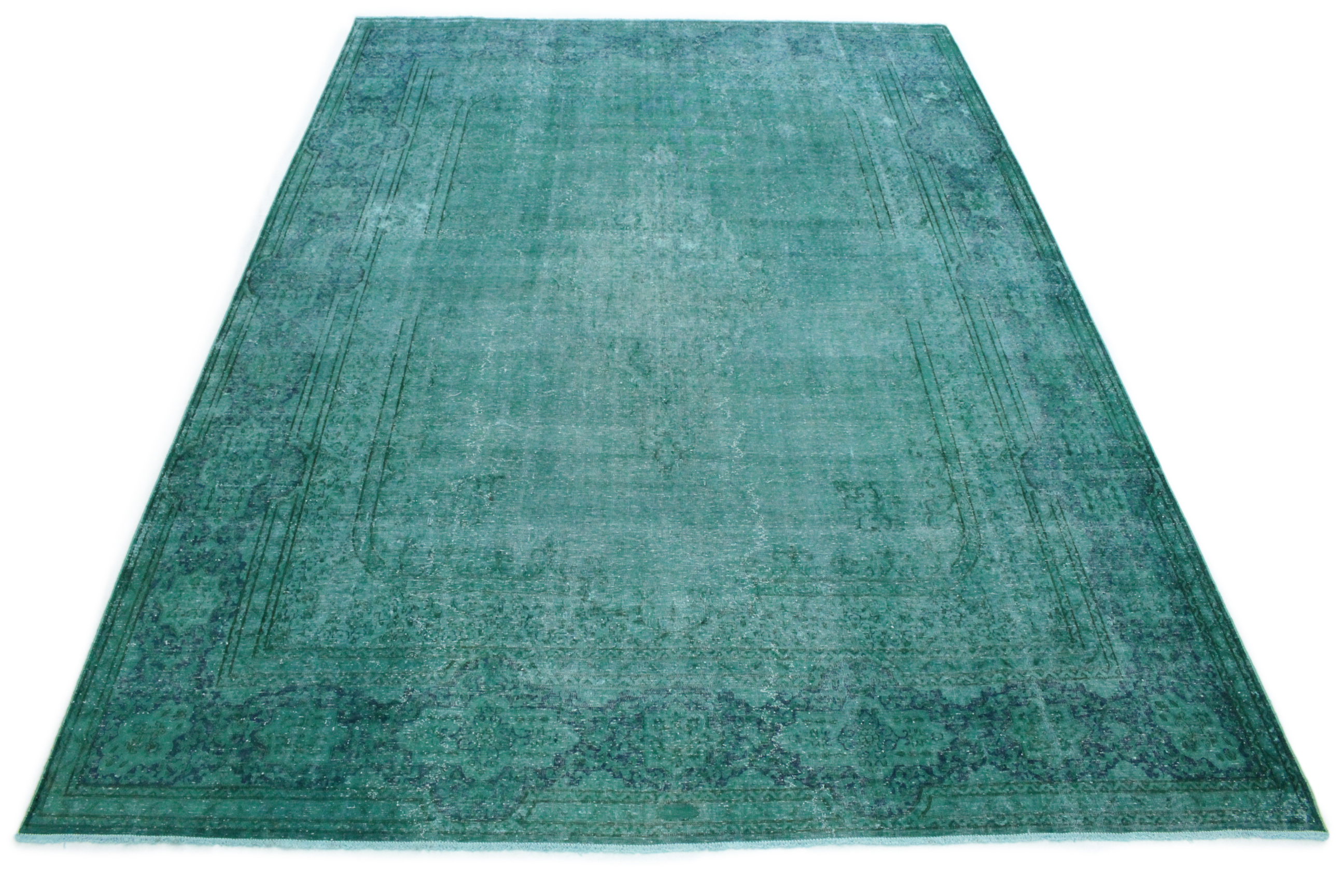 vintage teppich t rkis in 430x300 1001 167155 bei kaufen. Black Bedroom Furniture Sets. Home Design Ideas