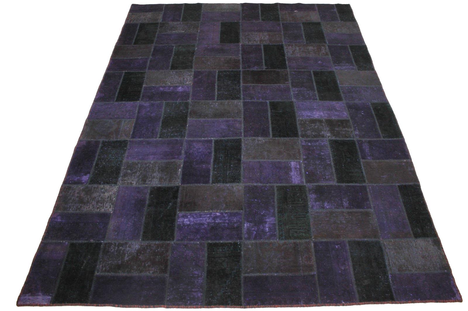 patchwork teppich lila in 320x240cm 1001 1829 bei kaufen. Black Bedroom Furniture Sets. Home Design Ideas