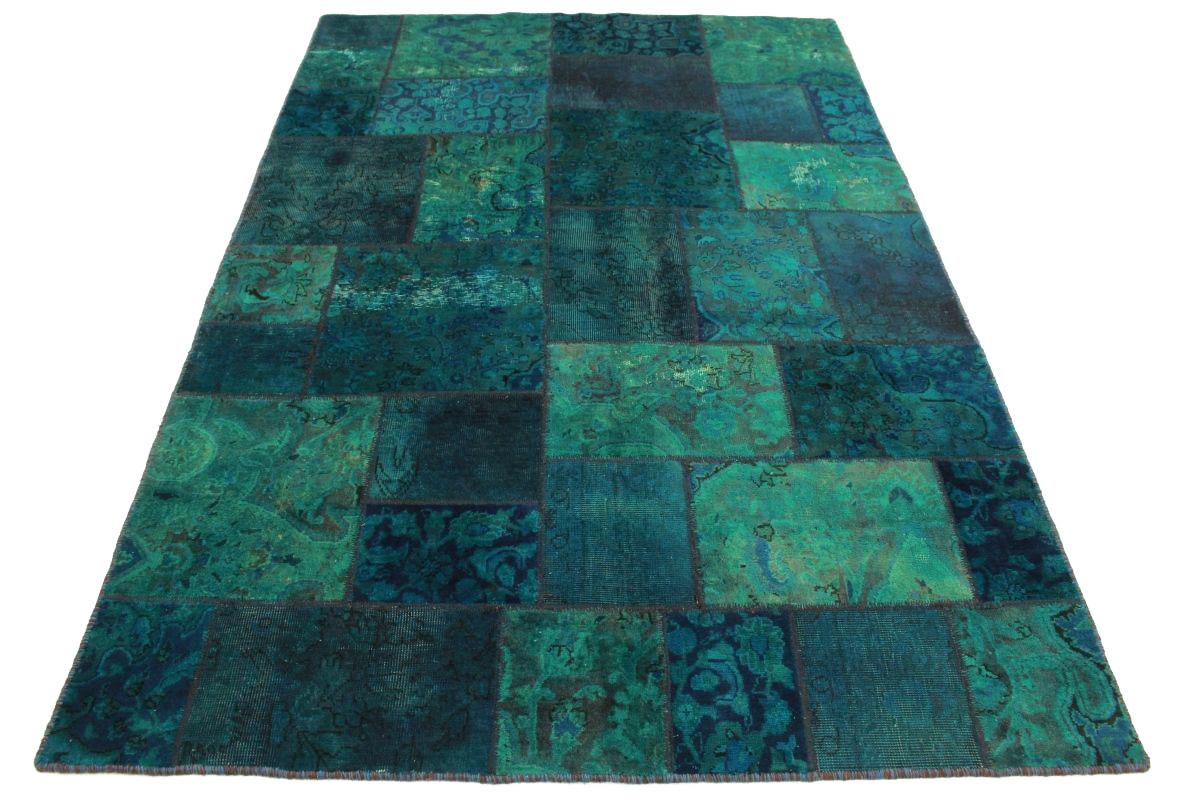 patchwork teppich blau t rkis in 240x160cm 1001 2097 bei. Black Bedroom Furniture Sets. Home Design Ideas