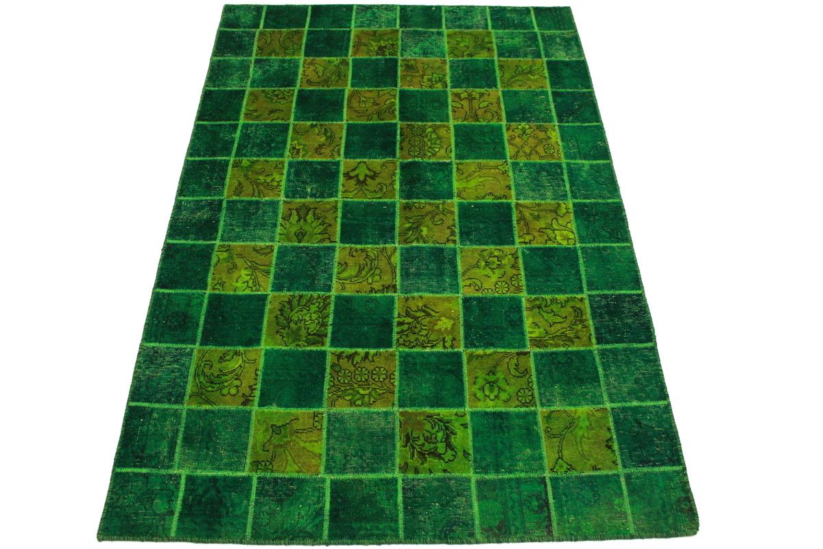 patchwork teppich gr n in 244x160cm 1001 2192 bei kaufen. Black Bedroom Furniture Sets. Home Design Ideas