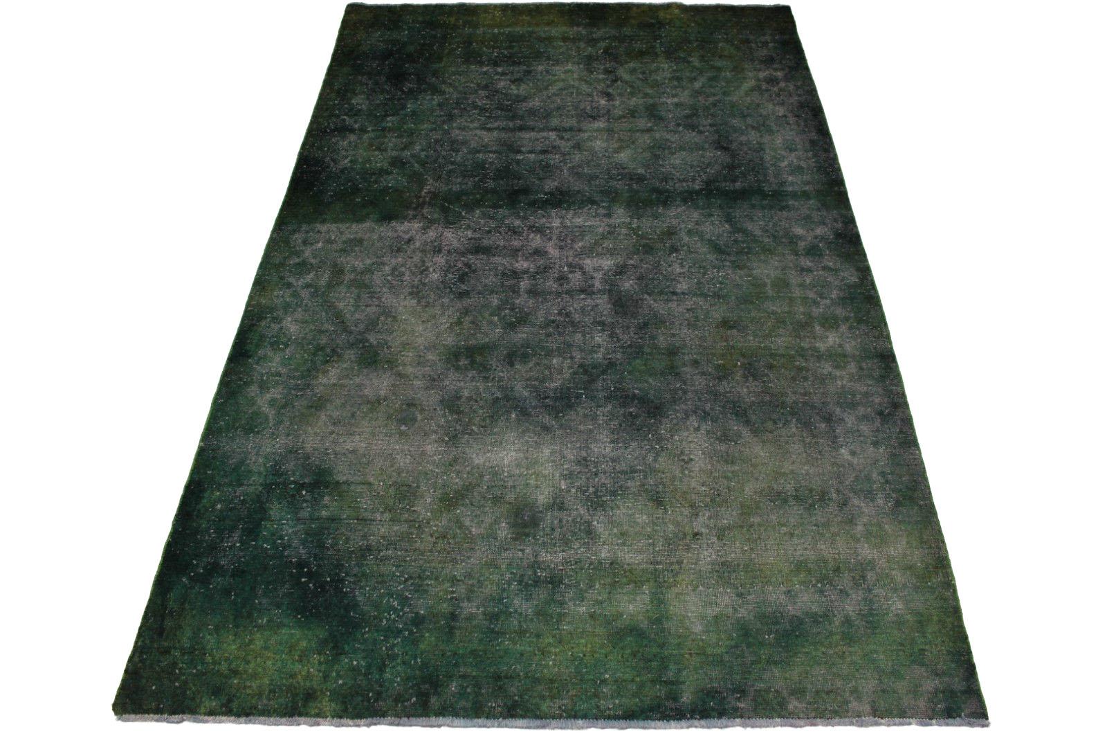 vintage teppich gr n grau in 300x200cm 1001 2934 bei. Black Bedroom Furniture Sets. Home Design Ideas
