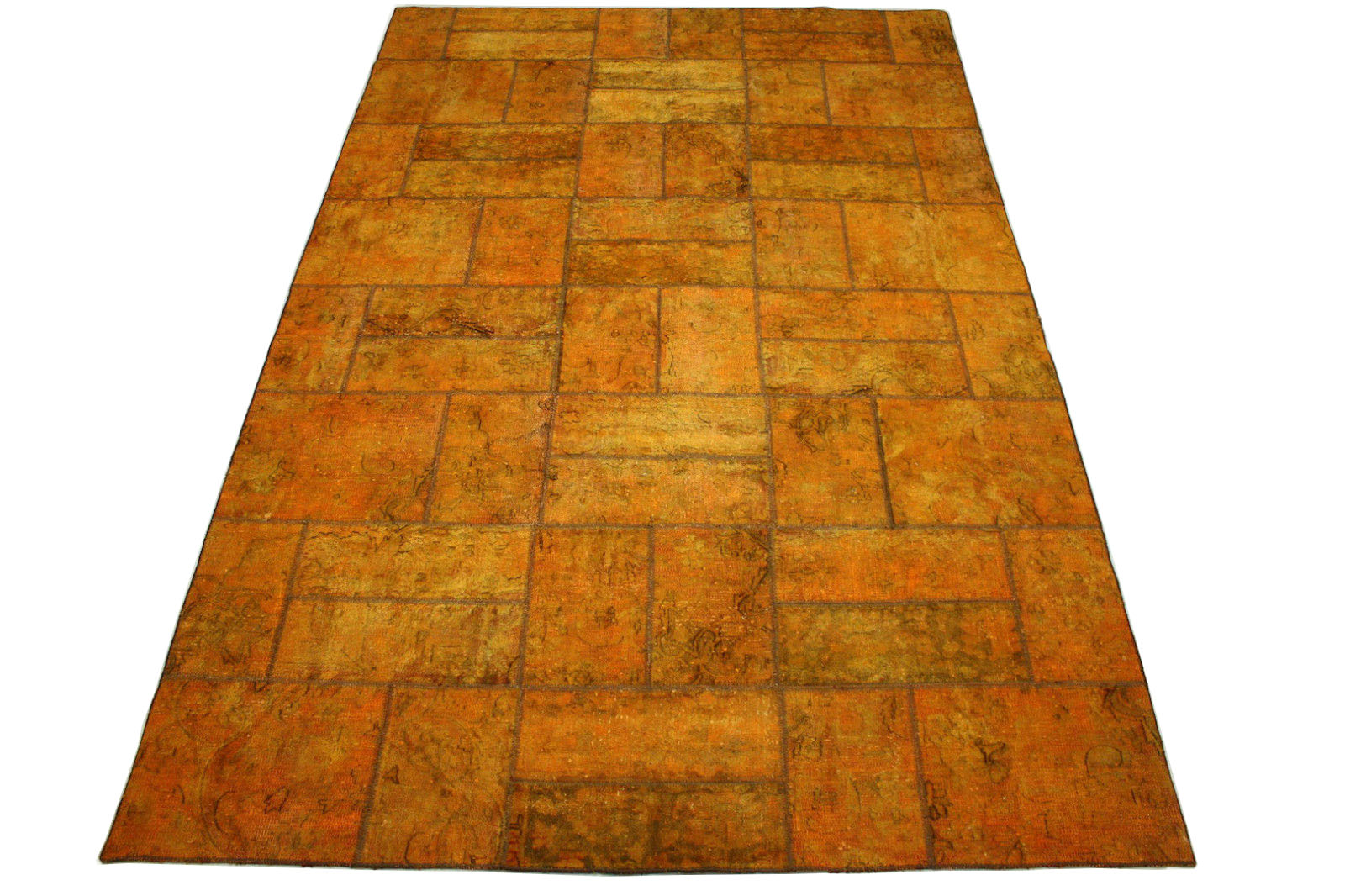 Patchwork Teppich Curry Gold in 300x200cm (10012970) bei