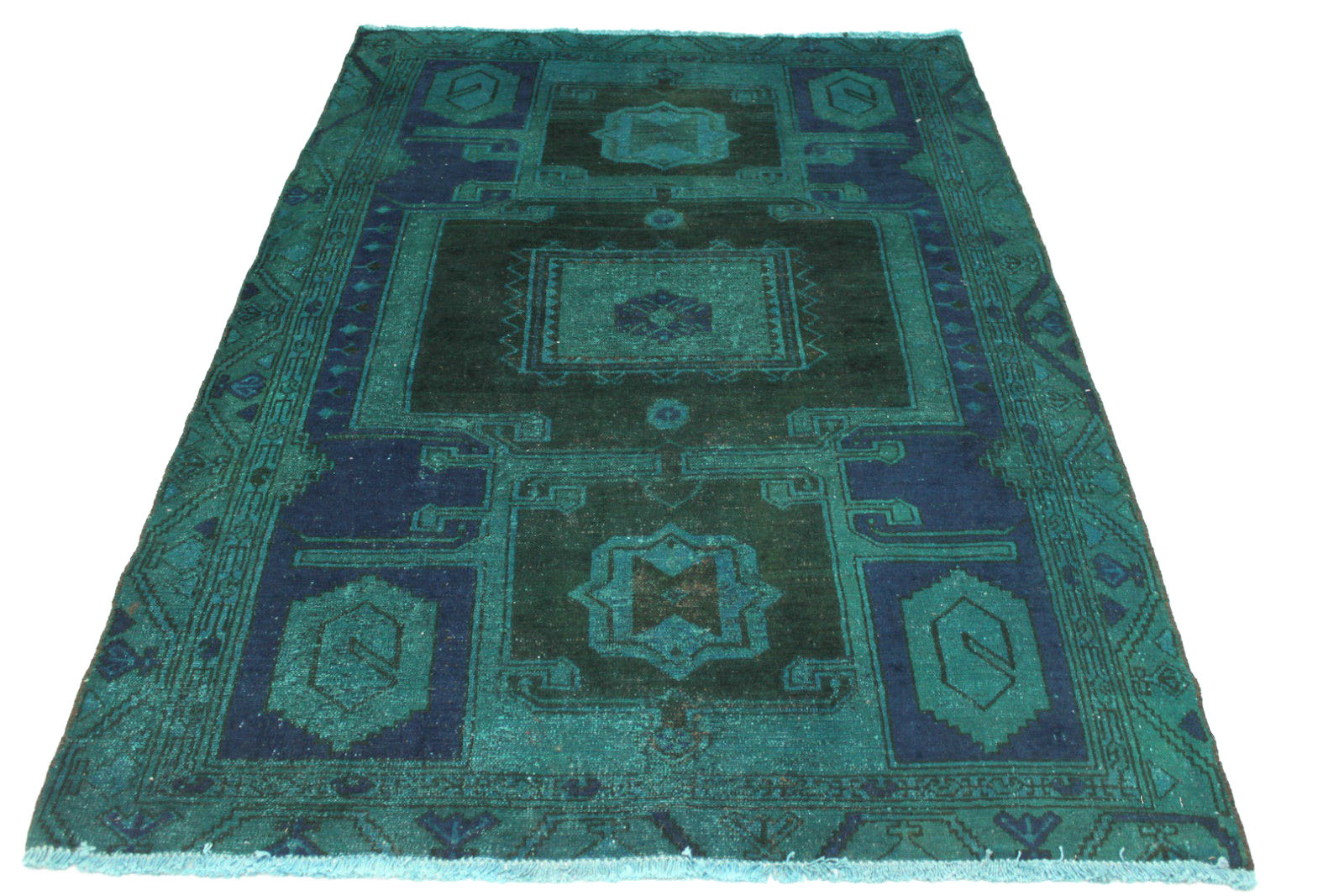 vintage teppich t rkis in 190x140cm 1001 3144 bei kaufen. Black Bedroom Furniture Sets. Home Design Ideas