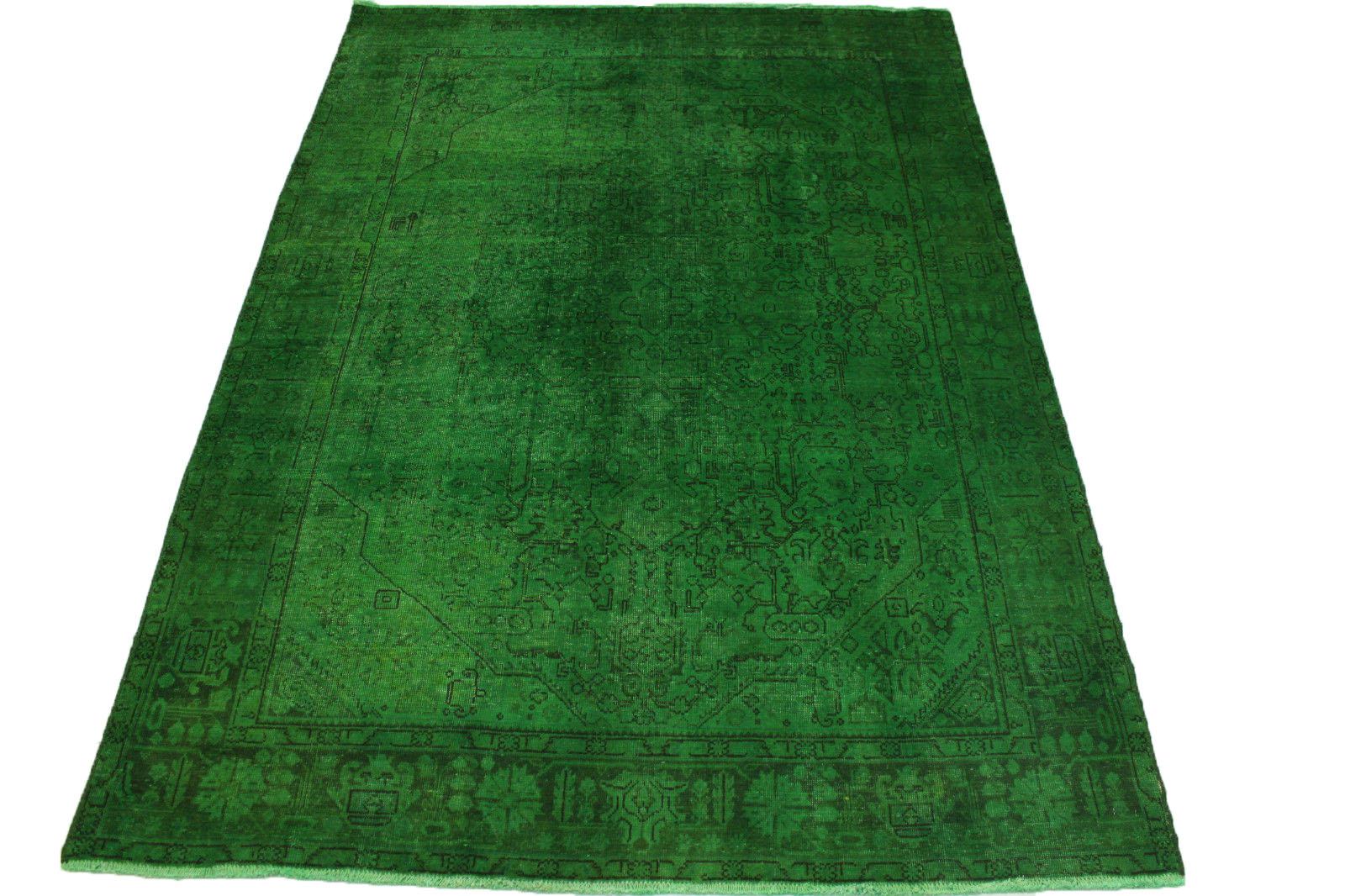 vintage teppich gr n in 280x200cm 1001 3178 bei. Black Bedroom Furniture Sets. Home Design Ideas