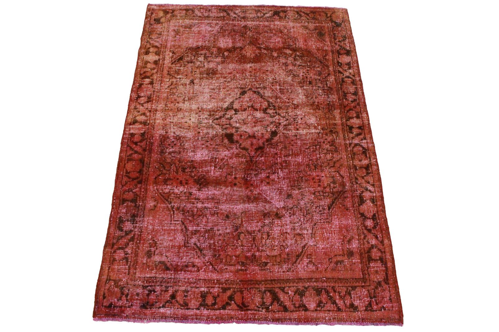 vintage teppich rot in 200x130cm 1001 3213 bei kaufen. Black Bedroom Furniture Sets. Home Design Ideas