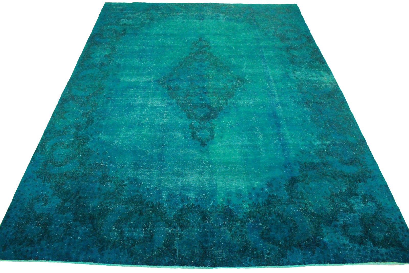 Vintage Teppich Blau Türkis in 470x340cm (1001-3237) bei carpetido.de ...
