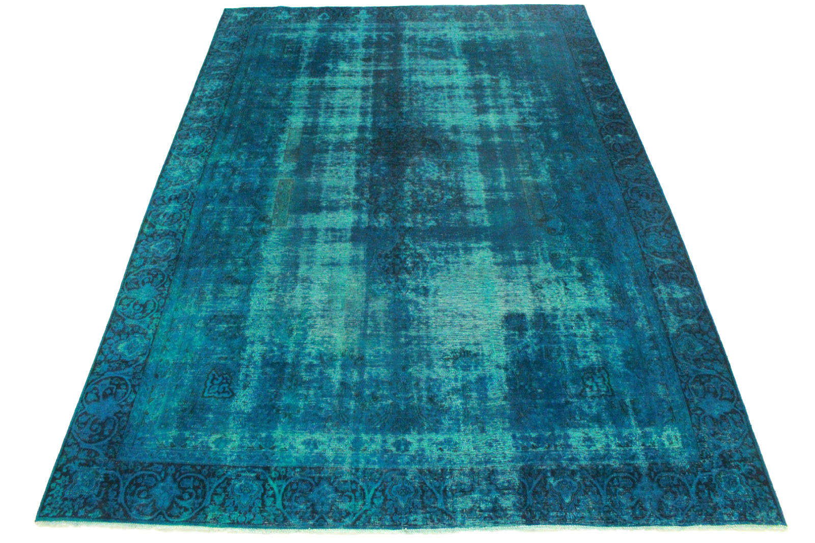vintage teppich t rkis in 410x280cm 1001 3262 bei kaufen. Black Bedroom Furniture Sets. Home Design Ideas