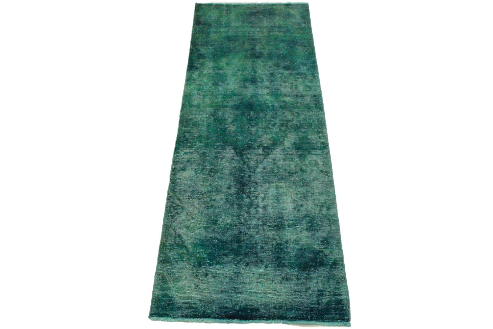 vintage teppich blau in 310x110cm 1001 3269 bei. Black Bedroom Furniture Sets. Home Design Ideas