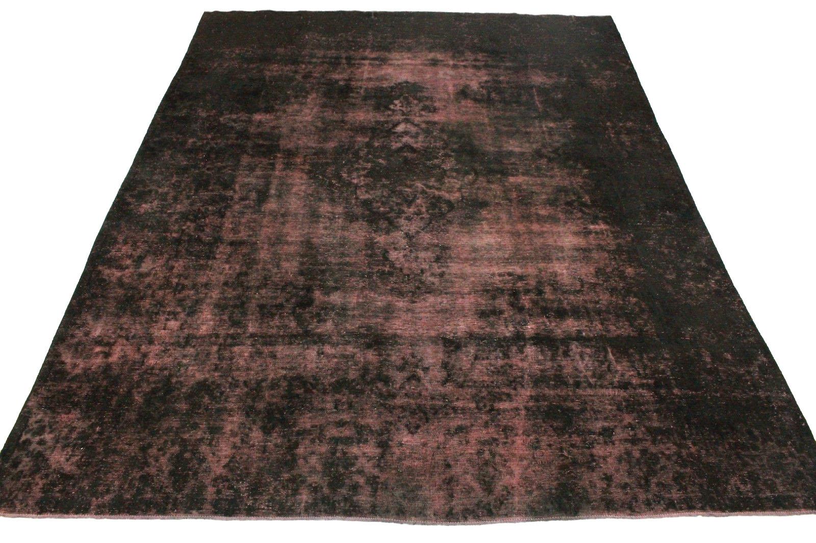 vintage teppich schwarz rosa in 400x300cm 1001 3333 bei. Black Bedroom Furniture Sets. Home Design Ideas