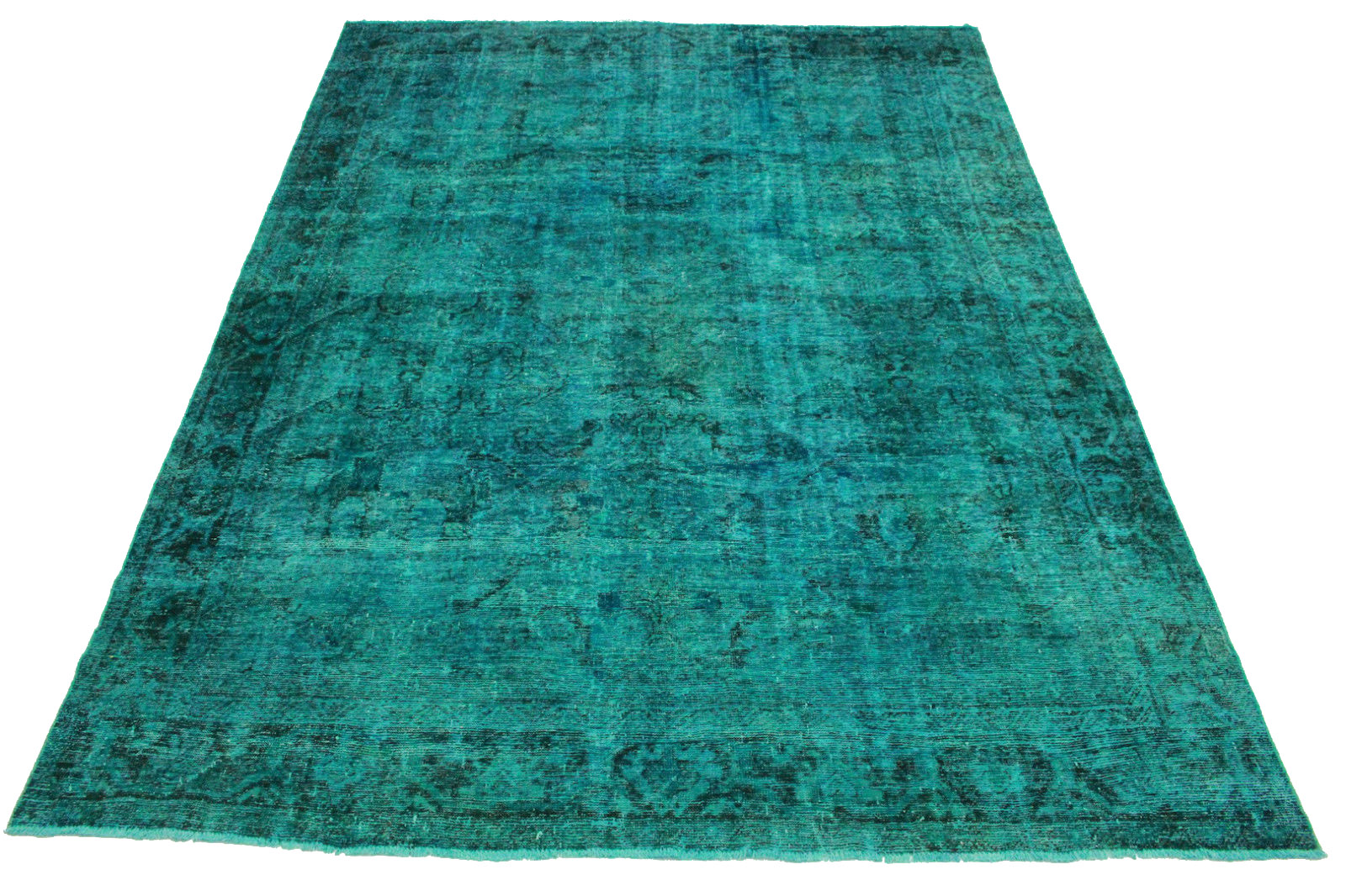 vintage teppich t rkis in 380x280cm 1001 3345 bei kaufen. Black Bedroom Furniture Sets. Home Design Ideas