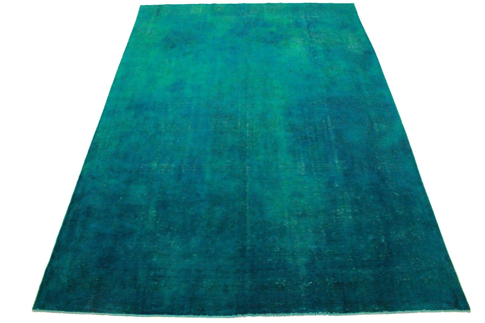 vintage teppich blau t rkis in 410x280cm 1001 3351 bei kaufen. Black Bedroom Furniture Sets. Home Design Ideas