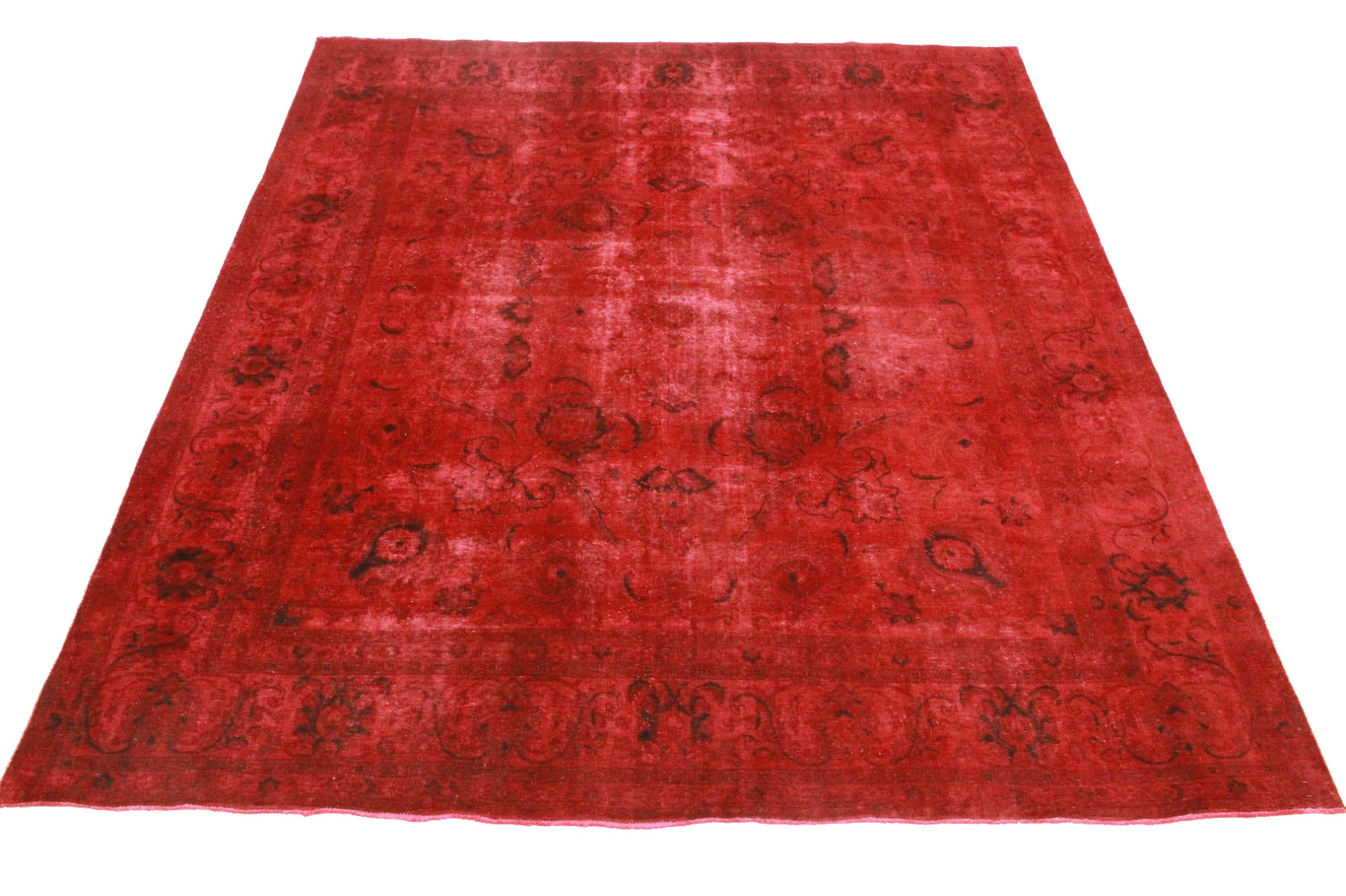 vintage teppich rot in 340x290cm 1001 3365 bei kaufen. Black Bedroom Furniture Sets. Home Design Ideas