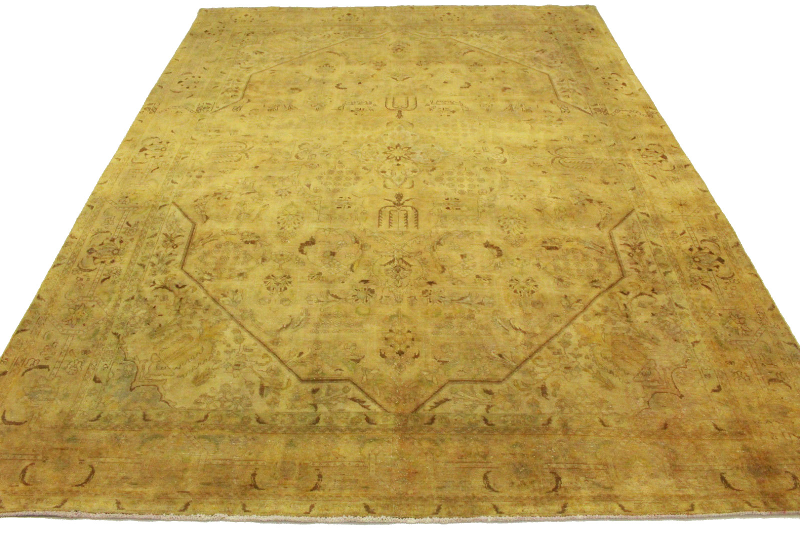Vintage Teppich Curry Sand in 400x300cm (10013488) bei